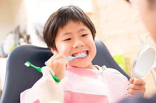 相模原市中央区の歯医者アオキ歯科クリニック、小児歯科イメージ