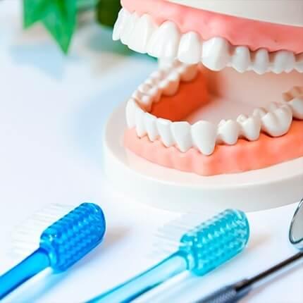 相模原中央区の歯科医院、アオキ歯科クリニック歯磨き指導イメージ